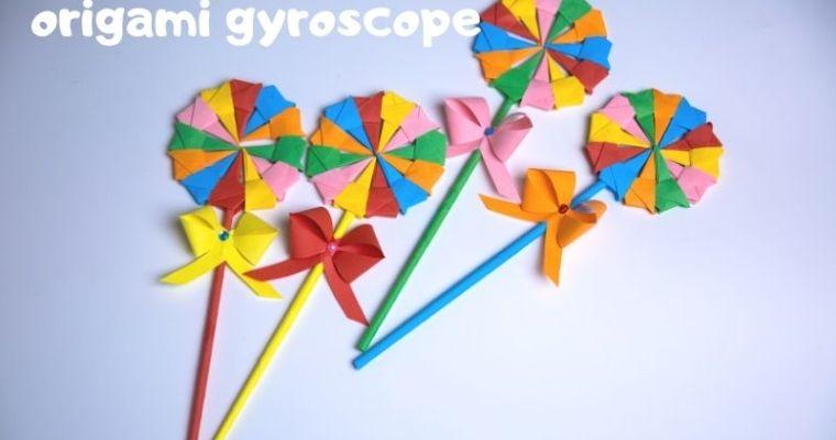 simple origami lollipo