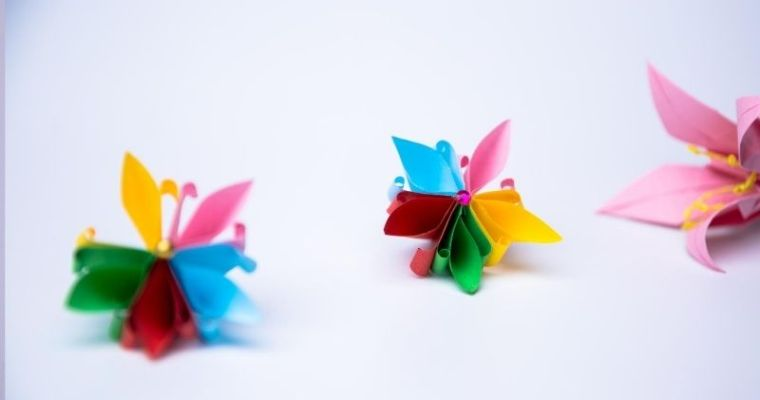 How to Make a Origami Cherry Blossom
