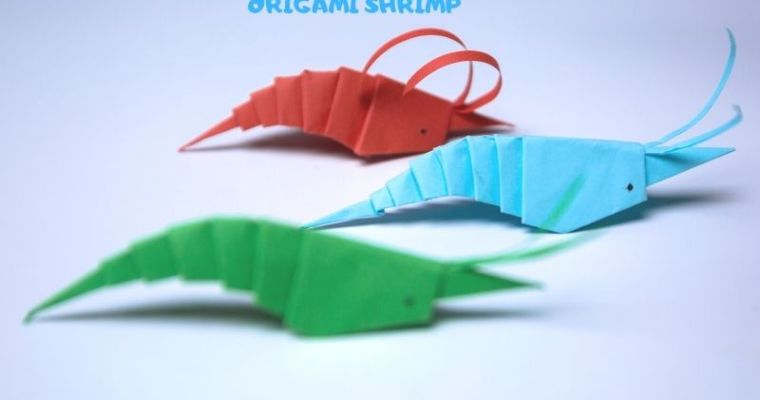 easy origami shrimp