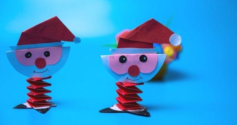 How do you make a origami Santa Claus