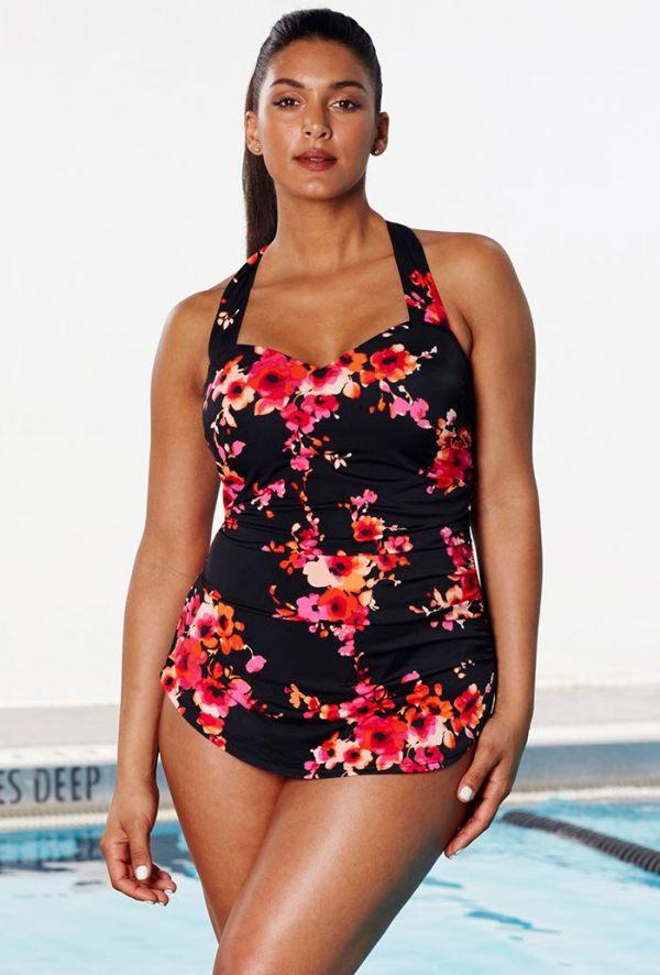 Plus size swimsuit