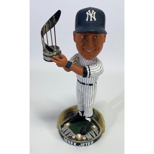 Derek Jeter New York Yankees Bobble Head 2000 World Series MVP