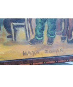 HAYA ZOHAR SIGNED OIL PAINTINGsignature2