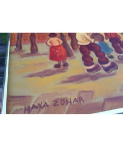 HAYA ZOHAR SIGNED OIL PAINTINGsignature3
