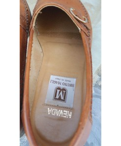 Bruno Magli Nevada Brown Leather Loaferslogo