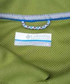 Columbia Omni Shade UVA Protect Short Sleeve Polo Shirt tag
