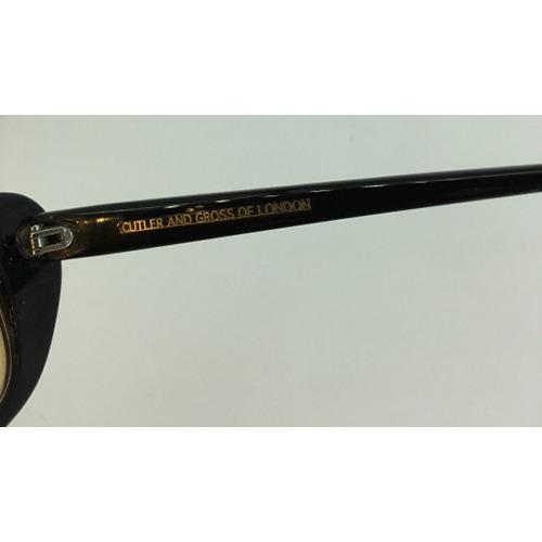 Cutler and Gross of London Sunglasses or Eyeglasses Frame, MOD 528B Handmade sig