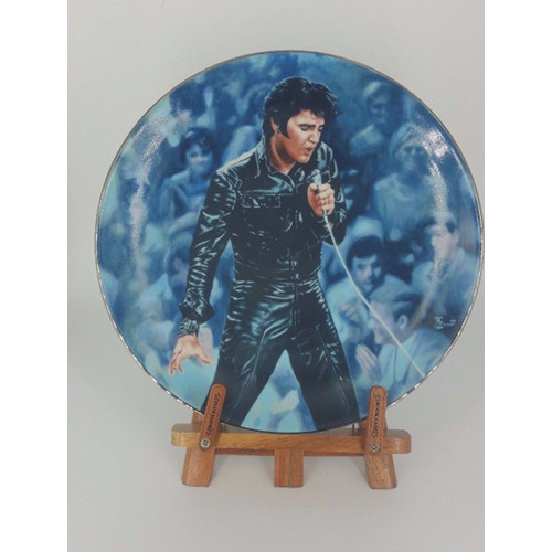Elvis Presley Enterprises Presents 68 Comeback Special Bruce Emmett Plate