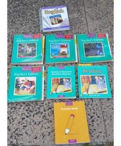 Houghton Mifflin Reading Teachers Resource, Edition-- Homeschool lot 8