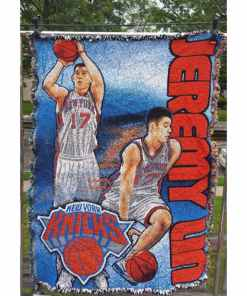 Linsanity Jeremy Lin NBA NY Knicks Wall Hanging, Blanket, Room Decor 36x47