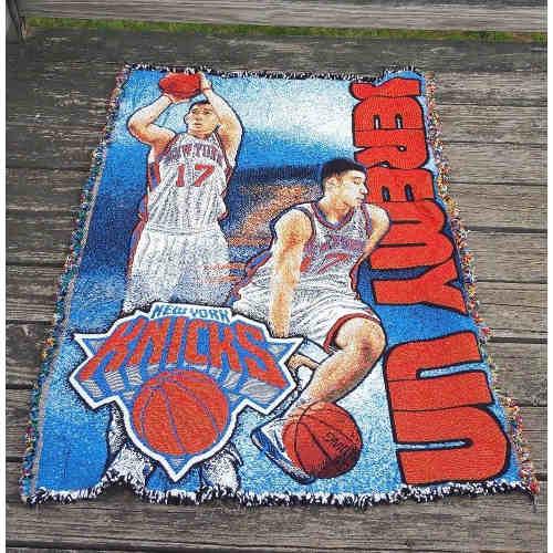 Linsanity Jeremy Lin NBA NY Knicks Wall Hanging Blanket Room Decor36x47floor