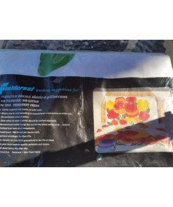 Marimekko Fieldcrest Full Double Flat Sheet 54x75in mattress label