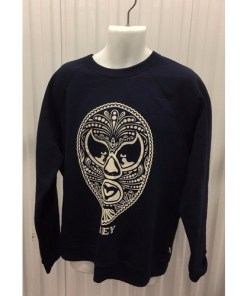 OBEY NAVY BLUE SWEATSHIRT LONG SLEEVE SZ XL