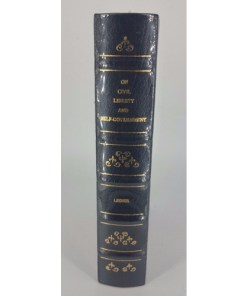 On Civil Liberty and Self-Government by Francis Lieber Fine Binding Leather 2
