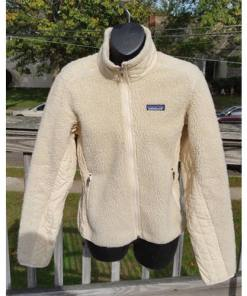 Patagonia Fleece Jacket Vintage (small) Tan Shell Tan Fleece