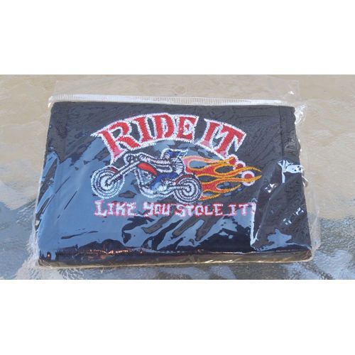 Ride it like you stole it wallet 801248912021