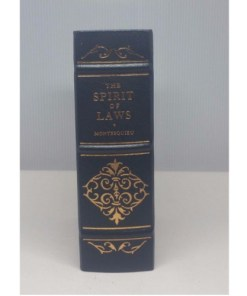 The Spirit of Laws by Montesquieu - VOL 1 Legal Classics Library (Gryphon)