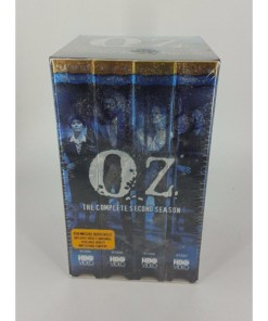 VIDEO -VHS - OZ THE COMPLETE SECOND SEASON 4 TAPE SET SEASON 2 side