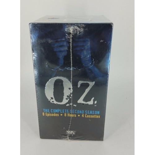 VIDEO - VHS - OZ THE COMPLETE SECOND SEASON 4 TAPE SET - SEASON 2