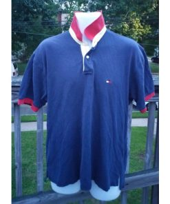 Vintage Tommy Hilfiger Short Sleeve Polo Size Large front