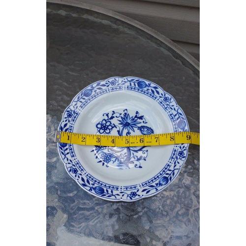 Zwiebelmuster Blue Onion Bowl Elegant size 8.5