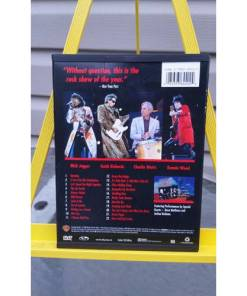 the rolling stones BRIDGES TO BABYLON TOUR '97-98 live in concert DVD back