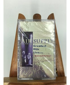 Air Supply Greatest Hits Live Now & Forever Cassette 075992464840jpg