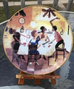 Annie Lee Art Six No Uptown Plate African American Art Sass n Class