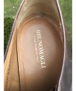 BRUNO MAGLI RANUNCOLO MENS BROWN CALF LEATHER Made In Italy SIZE 8M inner