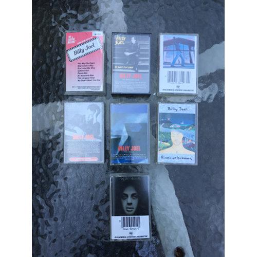 Billy Joel Cassette Tapes Lot Of 7 piano man glass houses & Karaoke Hits
