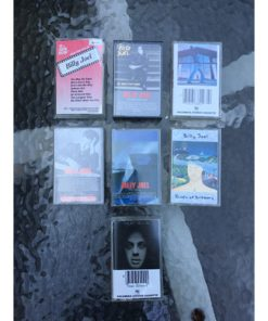 Billy Joel Cassette Tapes Lot Of 7 piano man glass houses & Karaoke Hits