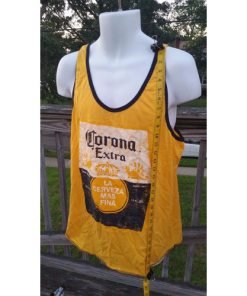 CORONA Extra Tank Top Sleeveless Muscle Tee Shirt Tshirt (Yellow) Beer