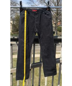 HUGO BOSS Red Label Stretch Black Straight Jeans Size 34 34 length