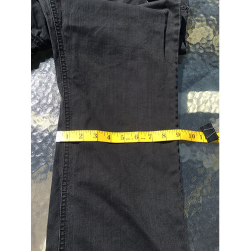 HUGO BOSS Red Label Stretch Black Straight Jeans Size 34 34 measurement2