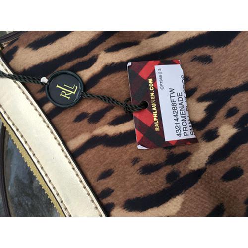 Lauren by Ralph Lauren Handbag, Promenade Quilted Small Cross body tag