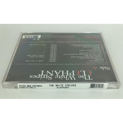 The White Stripes, Elephant Music Cd sticker 638812714824