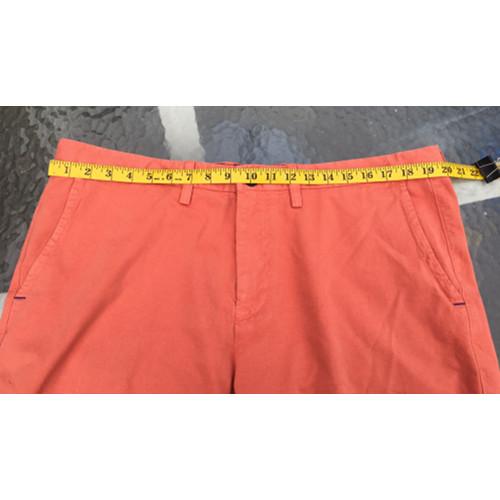 Tommy Bahama Shorts Mens 38 Flat Front Pumpkin Orange waist