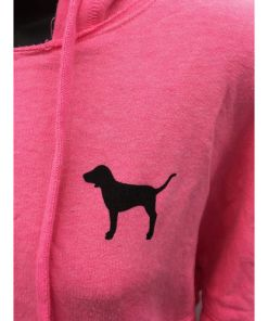 Victoria's Secret Love Pink (Pink) dog full zip hoodie Animal print size XS dog