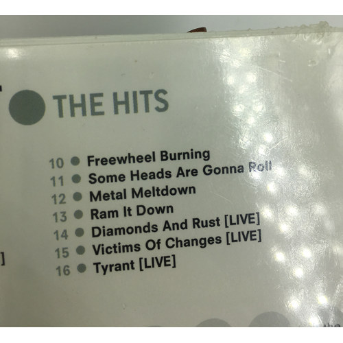 judas priest The hits cd living after midnight tracklist two 074666518021
