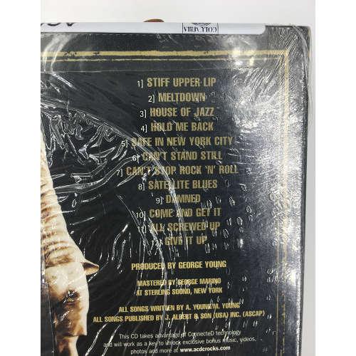 ACDC - Stiff Upper Lip [Remastered] CD886970829021 tracklist