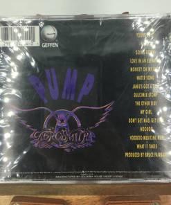 Aerosmith Pump Remaster Edition 1989 CDback 075992425421