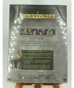 Carnivale - The Complete Second Season (DVD, 2006, 6-Disc Set)back 026359265921