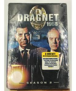 DRAGNET 1968 SEASON 2 New 6 DVD Set Jack Webb826663120639