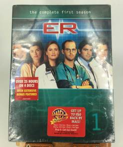 ER - The Complete First Season (DVD, 2003, 4-Disc Set 085392462926)