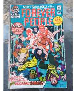 FOREVER PEOPLE #4 VF Jack Kirby's Fourth World, DC Comics 1971