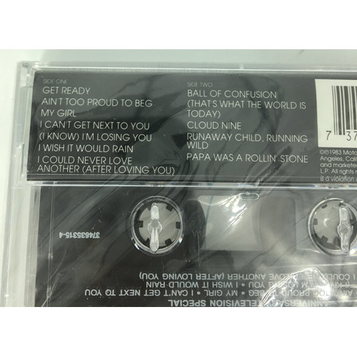 Motown Cassette Classic The Temptations tracks737463531542