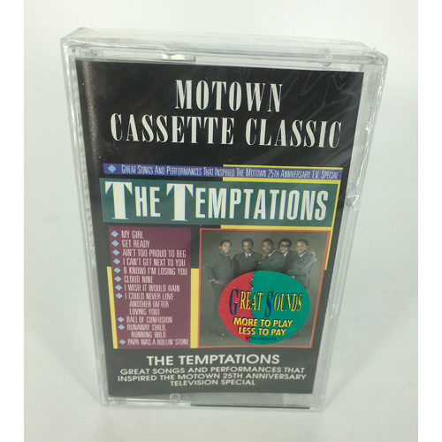 Motown Cassette Classic The Temptations two 737463531542