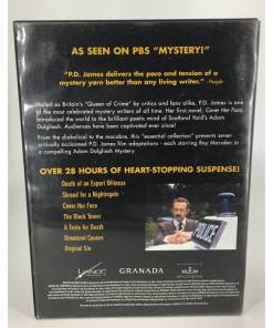 P.D. JAMES ESSENTIAL COLLECTION DVD RARE PBS MYSTERY BACK 741952661290