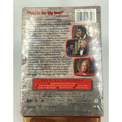 Sanford & Sons the second season redd foxx barcode 043396003507