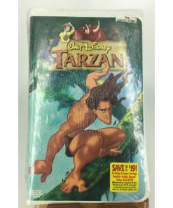 Walt Disney Tarzan (VHS, 2005) THX SOUND 786936089868